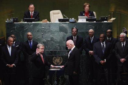 Guterres presta juramento como secretario general de Naciones Unidas