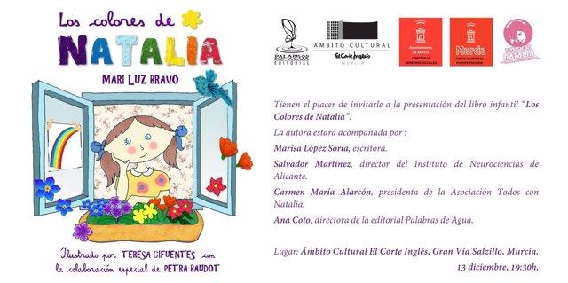 Libro infantil 'Los colores de Natalia'
