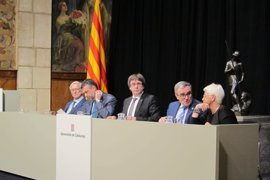 """Puigdemont ensalza la """"elevación espiritual"""" del catalán universal Enric Granados"""