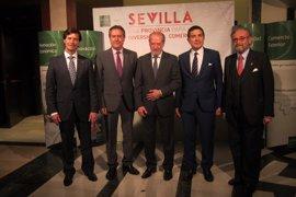 Diputación, Ayuntamiento, Junta y empresarios, unidos para atraer a inversores a Sevilla