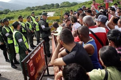 Así está la frontera entre Colombia y Venezuela tras el cierre decretado por Maduro