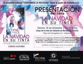 Proyecto cultural 'Contamos la Navidad' presenta este viernes en Valladolid su nueva antología, 'La Navidad en su tinta'