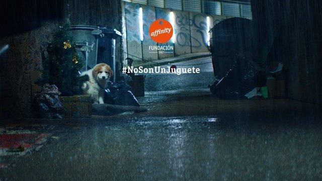 Affinity campaña #NoSonUnJuguete