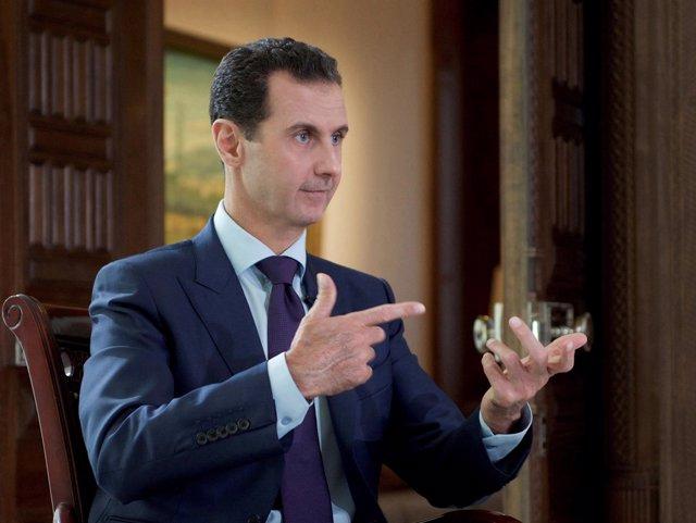 El presidente de Siria, Bashar al Assad