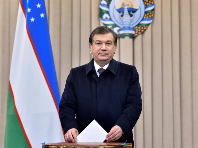 Nuevo presidente de Uzbekistán, Shavkat Mirziyoyev