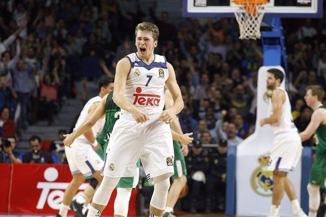 Luka Doncic Real Madrid contra Zalgiris Kaunas