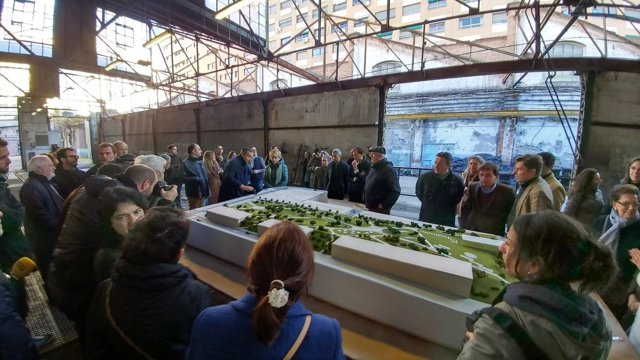 Proyecto de viviendas en las antiguas cocheras de Metro de Cuatro Caminos
