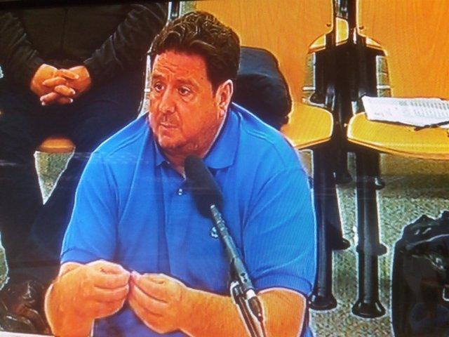 El denunciante de la Gürtel José Luis Peñas declarando ante el juez
