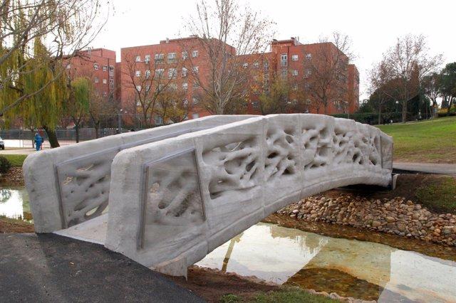 Puente impreso en 3D Alcobendas
