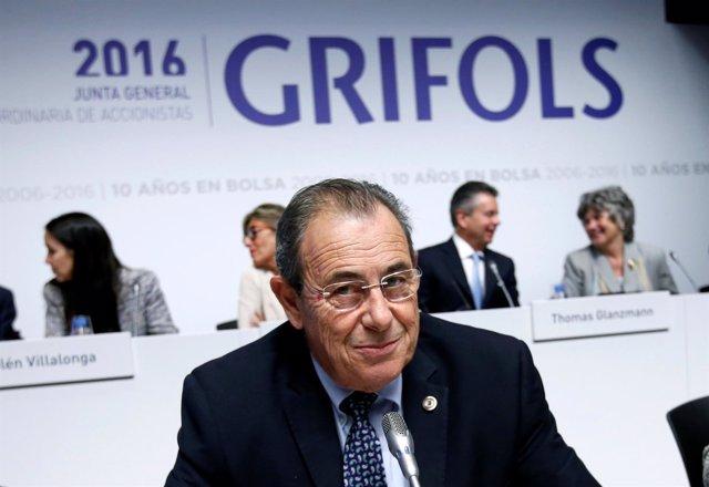 El presidente de Grifols, Victor Grifols