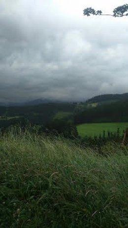 Tiempo nublado euskadi