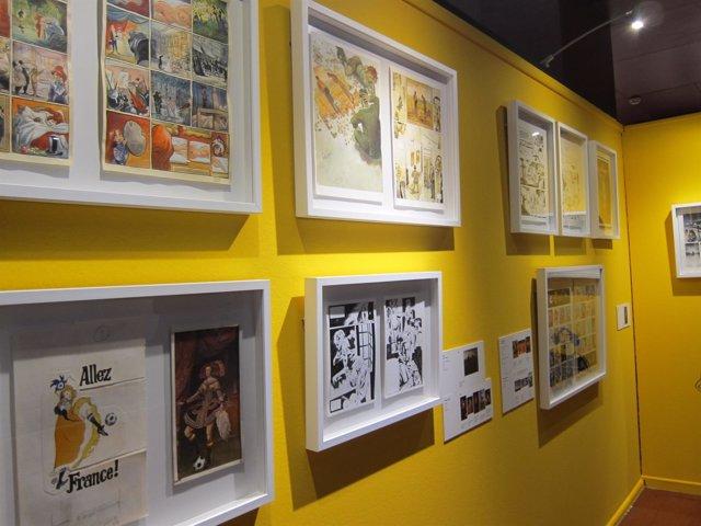 Exposición de cómics