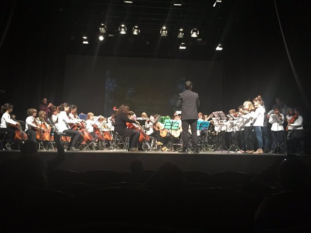 Concierto de Navidad de la Escuela de Música de Palma