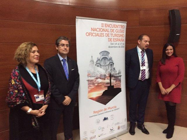Presentación del II Encuentro nacional de Guías Oficiales de Turismo