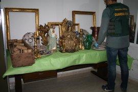 Un detenido en Sevilla por robo de antigüedades y recuperada una virgen del siglo XVIII