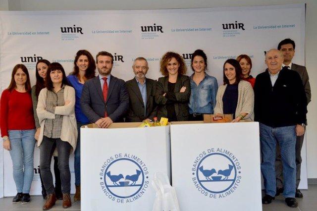 Colaboración UNIR con Banco de Alimentos