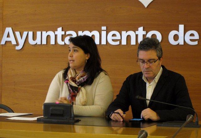 Alonso y San Martín, en la rueda de prensa