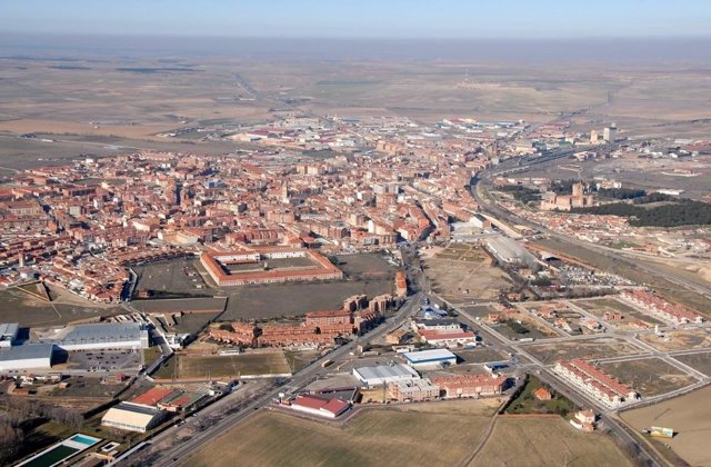 Vista aérea Medina del Campo