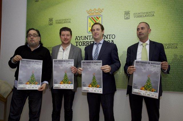 Presentación del Torneo de Navidad Solidario