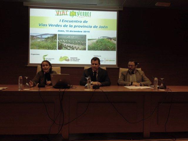 I Encuentro de Vías Verdes en la provincia de Jaén