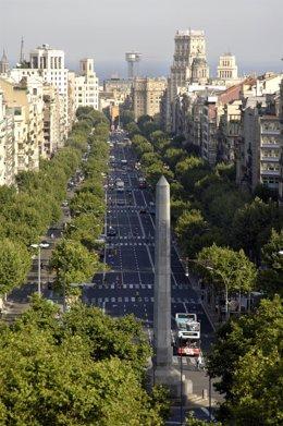 Passeig / paseo de Gràcia de Barcelona