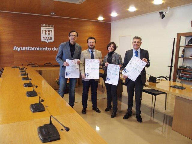 Participantes en la presentación del Premio