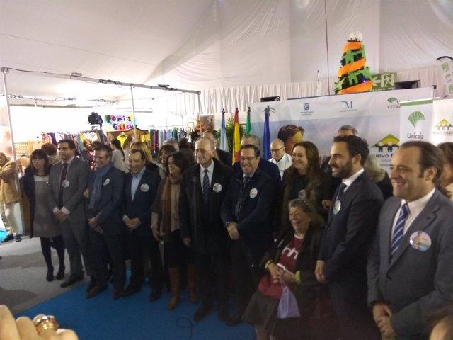 Inauguración rastrillo nuevo futuro málaga diciembre 2016 plaza de toros