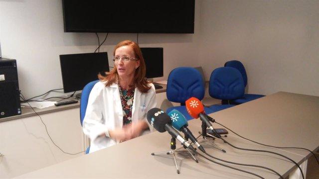Directora del Complejo Hospitalariode Granada, Cristina López Espada