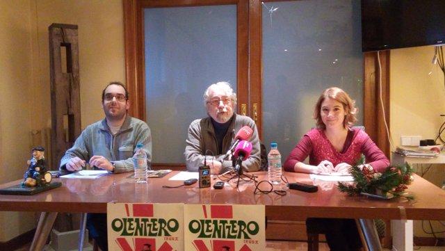 Presentación del desfile del Olentzero 2016
