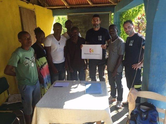 Un efectivo del Consorcio en Haití
