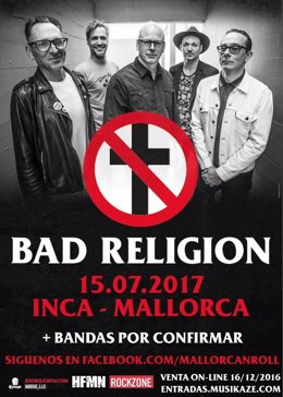 Cartel de Bad Religion