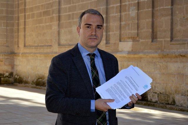 El diputado autonómico del PP-A  Amós García