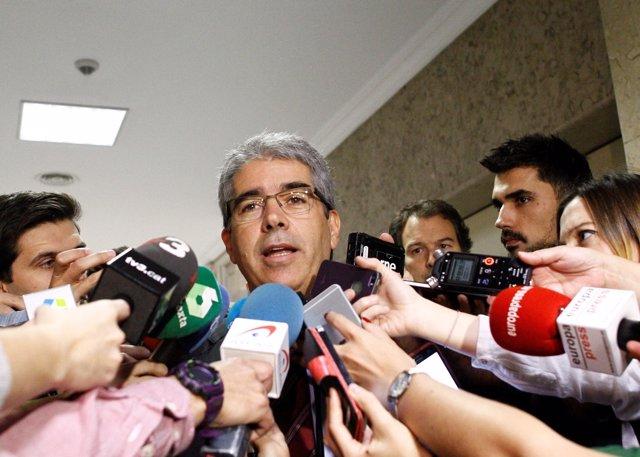 Francesc Homs, portavoz del PDECat