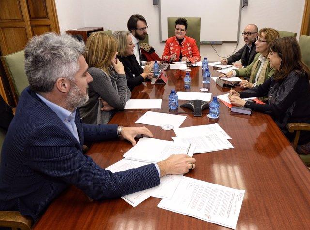 Reunión del Jurado del Premio Miguel Delibes