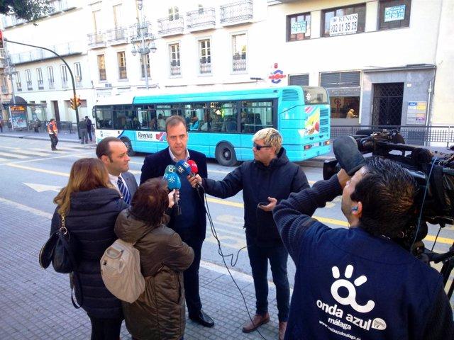 Juan Cassá e Íñigo Vallejo en rueda de prensa.
