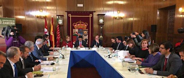 Reunión de la comisión de diputaciones de la FEMP en Zamora
