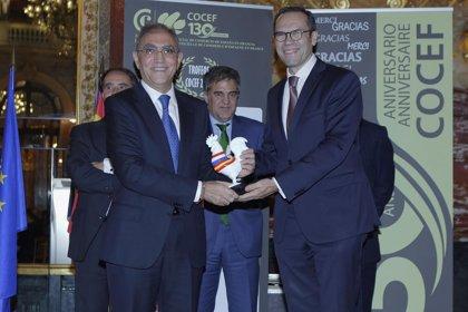 CT Ingenieros gana el premio a la mejor pyme de 2016 por la Cámara de Comercio de España en Francia
