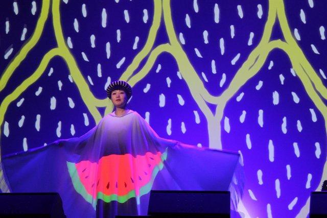 Kumisho en directon, en la edición del 'SonarKids' en 2014