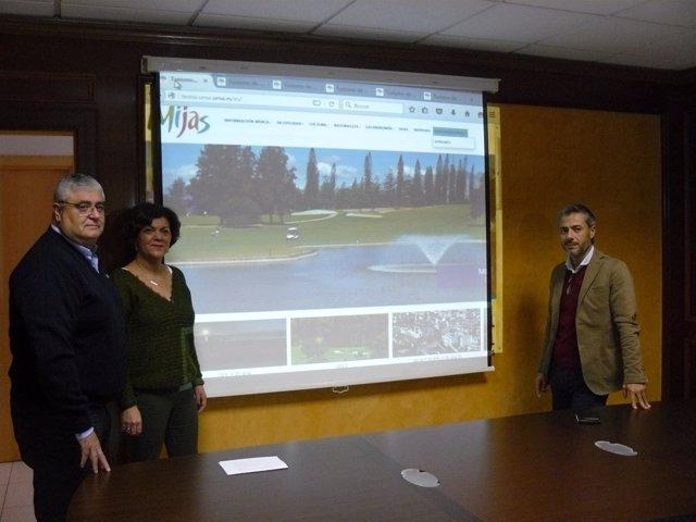 Nueva pagina web de turismo de Mijas, mancomunidasd