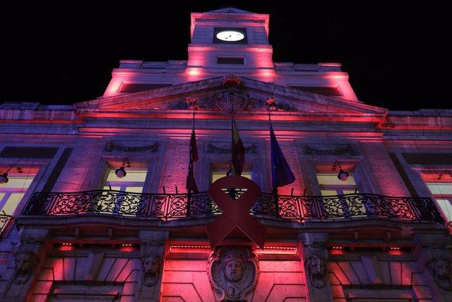 Real Casa de Correos Día Mundial del SIDA