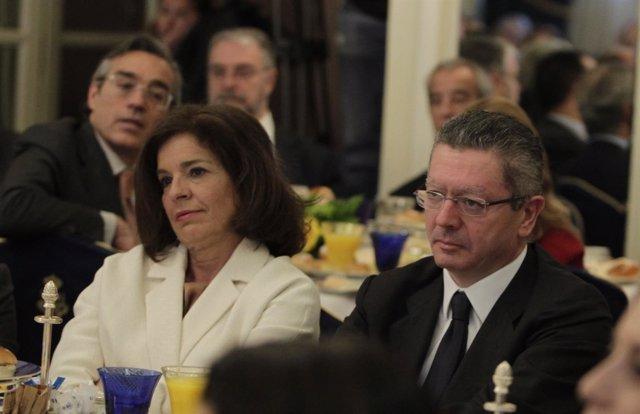 Ana Botella y Alberto Ruiz Gallardón