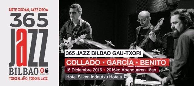 Cartel del próximo concierto del Jazz Bilbao Gau-Txori