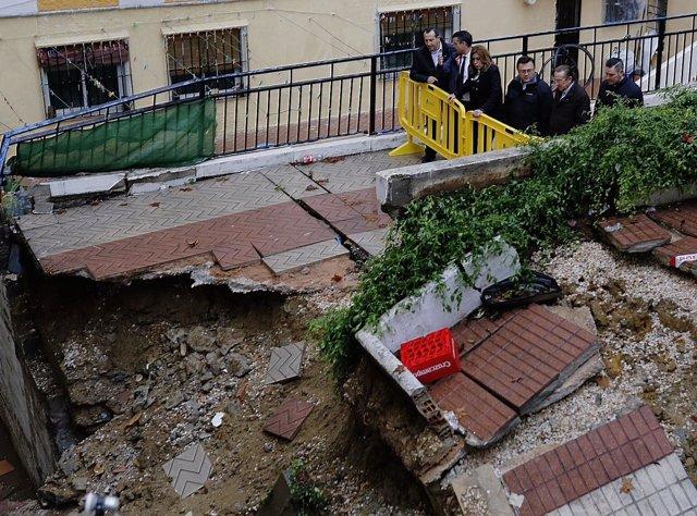 Susana Díaz marbella bernal inundaciones destrozos 2016 daños temporal