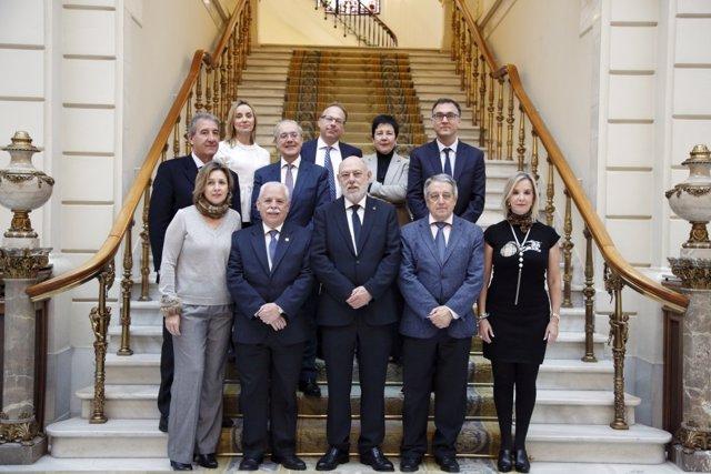 Consejo Fiscal presidido por José Manuel Maza