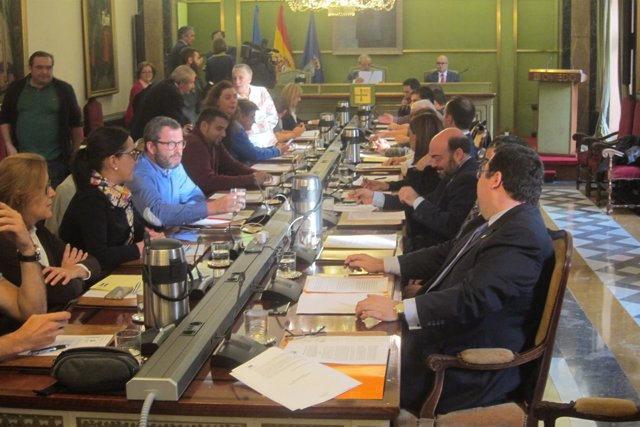 Pleno Municpal del Ayuntamiento de Oviedo