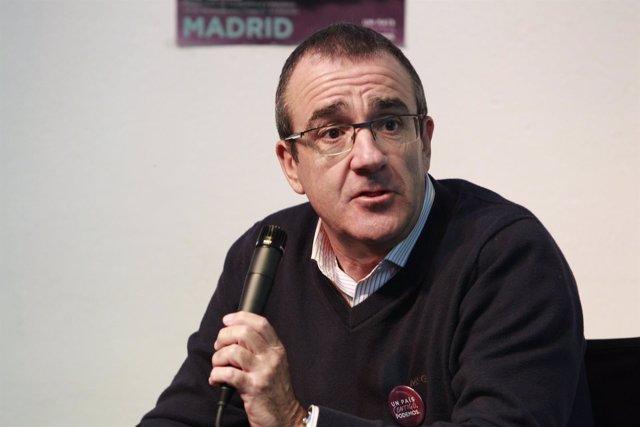 Juan Pedro Yllanes, exjuez del caso Noos y candidato por Baleares de Podemos