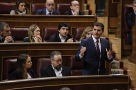Rivera emplazará a Santamaría a una reforma constitucional exprés para quitar aforados