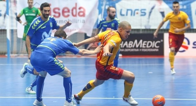 Movistar Inter Barcelona Lassa final fútbol sala Primera