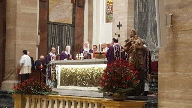 Ceremonia por el Prelado del Opus Dei, Javier Echevarría