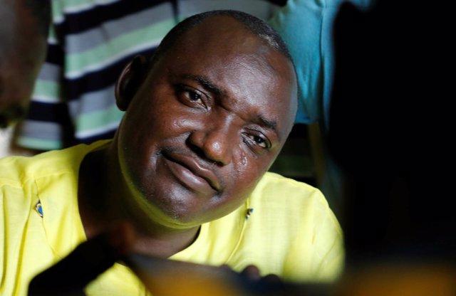 El presidente electo de Gambia, Adama Barrow